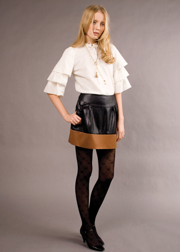 herringbone-ruffle-blouse-via-builtbywendy